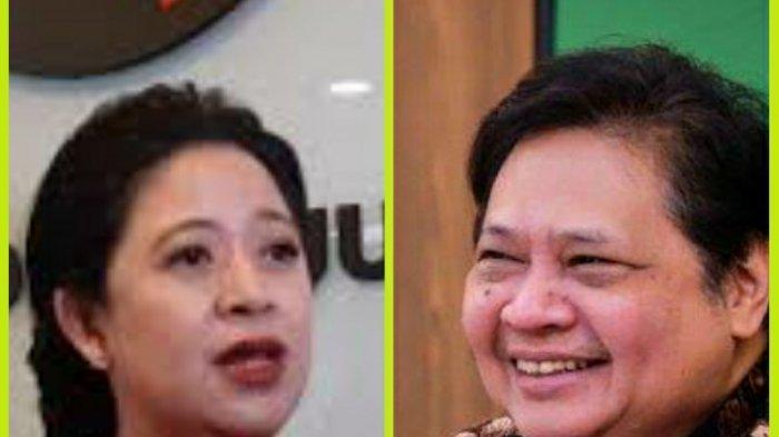 Perang Baliho Puan Maharani Vs Airlangga Hartarto di Makassar, Elite Partai Klaim Layak Presiden