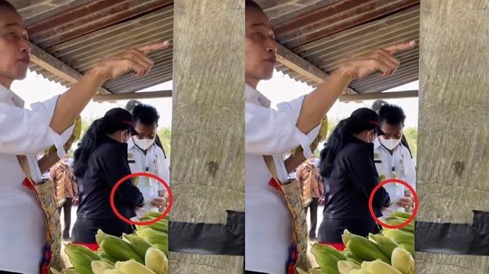 Video Ketua DPR RI Puan Maharani 'Minta Uang' ke Mentan Syahrul YL, Jokowi Lahap Makan Jagung