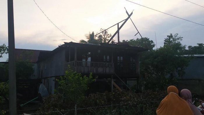 23 Rumah di Segeri Pangkep Rusak Akibat Angin Puting Beliung