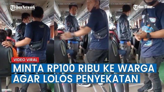 Video Viral Anggota BPBD Lampung Selatan Pungli Manfaatkan Momentum PPKM, Kini Diciduk Polisi