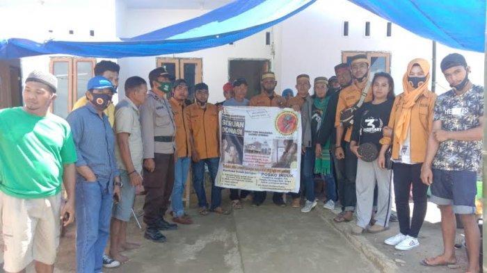Lembaga Pemerhati Pusaka Adat dan Kebudayaan Makassar Bantu Korban Banjir Bandang Lutra