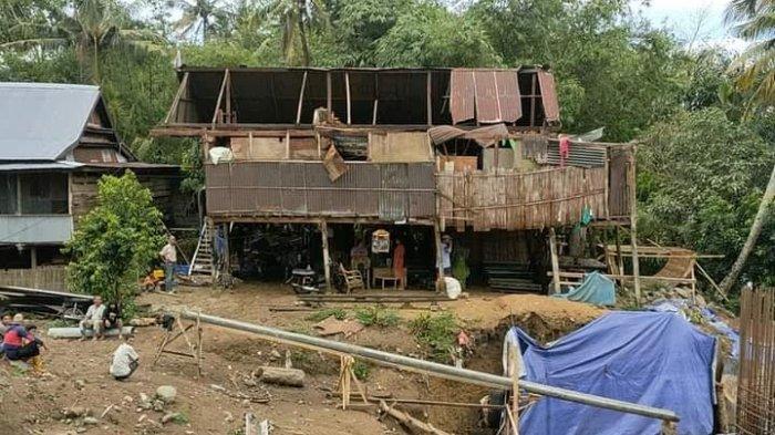 Puting Beliung Mengamuk di Soppeng, 33 Rumah Warga Rusak