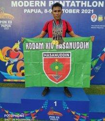 Putra Maros Serda Yusri Sabet 4 Medali Cabor Modern Pentathlon di PON XX Papua