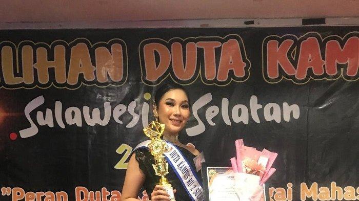 Putri Juliandini, Juara 3 Putri Duta Kampus Sulsel 2021 dari Universitas Sawerigading Makassar