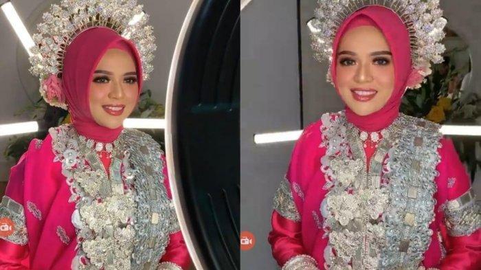 Cantiknya Anak Rektor UNM di Malam Mappacci, Dirias MUA Hits Makassar Muhdia Rafika