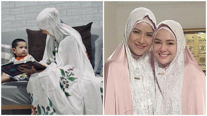 Bandingkan Cara Amanda Manopo dan Putri Anne Pakai Mukena, Mas Al Pilih Mana Yah?