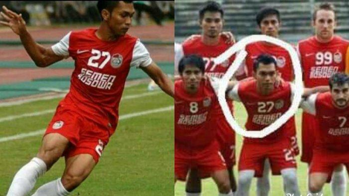 Qifly Tamara, mantan winger PSM Makassar meninggal dunia, Jumat (2102020).