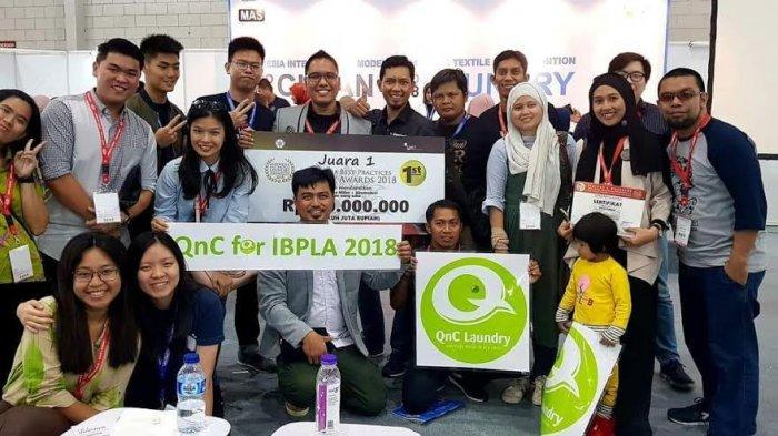 QnC Laundry Asal Makassar Juarai IBPLA 2018