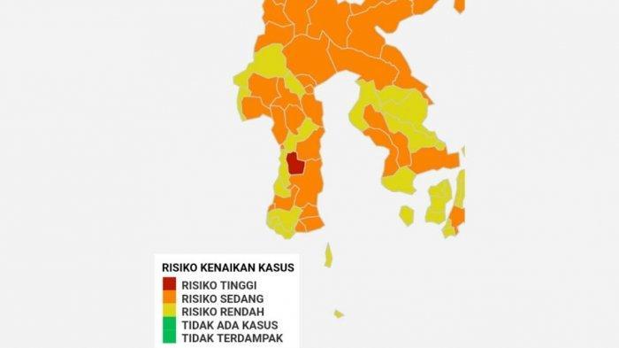 Soppeng Zona Merah Covid-19 di Sulsel, 8 Zona Kuning Termasuk Gowa, Bagaimana Makassar?