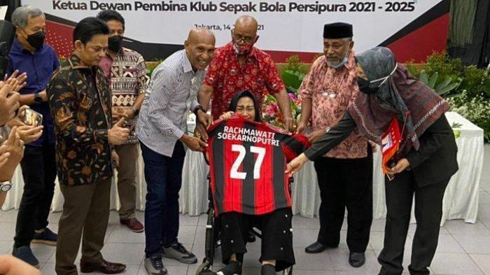 Rachmawati Soekarnoputri Jadi Ketua Dewan Pembina Persipura Jayapura