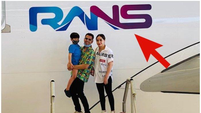 Penjelasan Bos Garuda Soal Logo RANS Entertainment Milik Raffi Ahmad di Badan Pesawat, Bukan Hoax