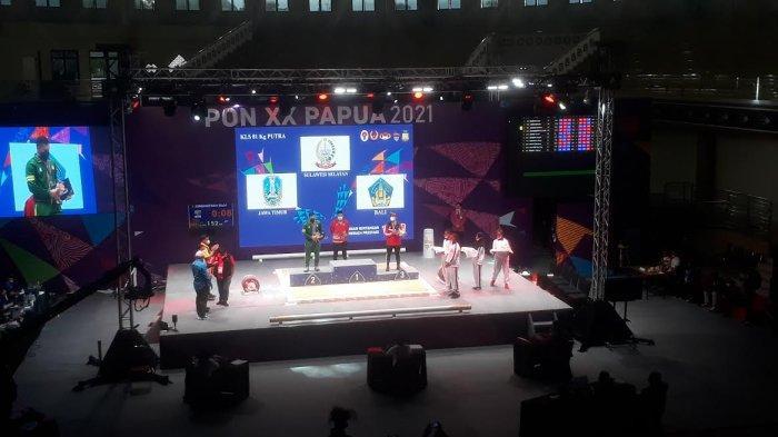 Lifter Peraih Medali di Olimpiade Tokyo Rahmat Erwin Persembahkan Emas Buat Sulsel di PON XX Papua