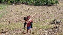 Sakit Jantung, Siswi SMAN 20 Makassar Tetap Mendaki Bukit Ponrang Demi Ujian