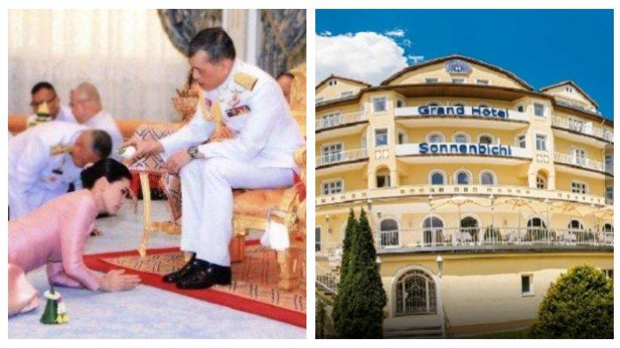 Raja Thailand Selamatkan Diri dan 20 Selirnya dari Covid-19 ke Jerman, Sewa Satu Hotel Mewah