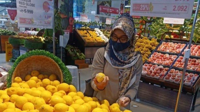 Produk Segar Banting Harga di Lotte Mart Panakkukang