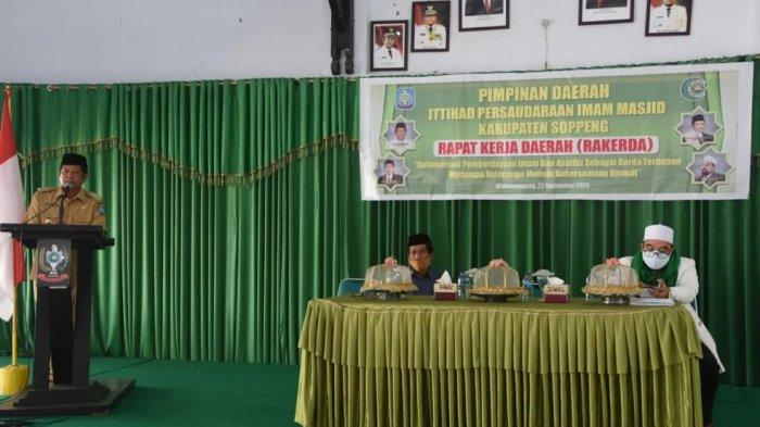 Rakerda IPIM Soppeng, Ini Permintaan Bupati ke Imam Masjid dan Musallah