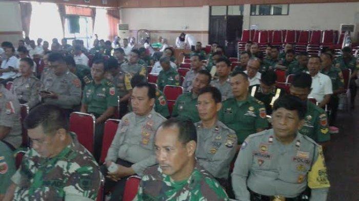 Antisipasi Konflik Jelang Pileg 2019, Pemda Soppeng Rakor Bareng TNI, dan Polri