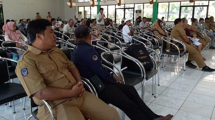 Puluhan Kades dan Pejabat OPD Ikuti Rakor PPM-PKPM Lutim