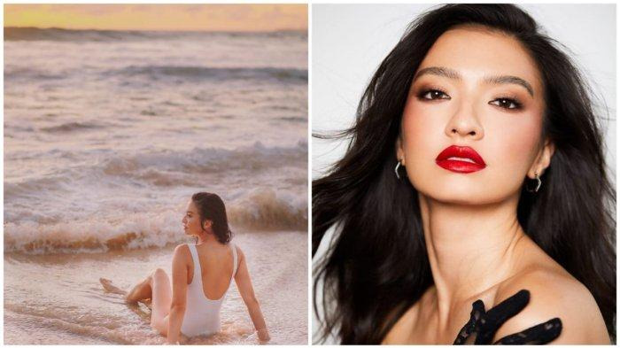 Duh! Duh! Raline Shah Pakai Bikini di Pantai Saat Usia 36 Tahun Bikin Pangling
