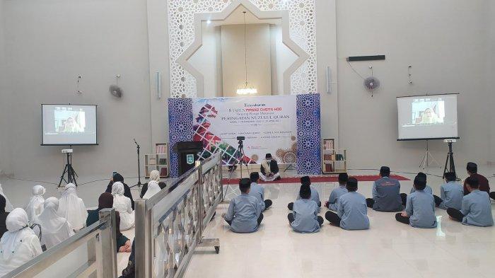 Masjid Cheng Hoo Tanjung Bunga Rayakan Milad ke-8 Dirangkaikan Nuzulul Quran, Ini Pesan Ramlah Aksa