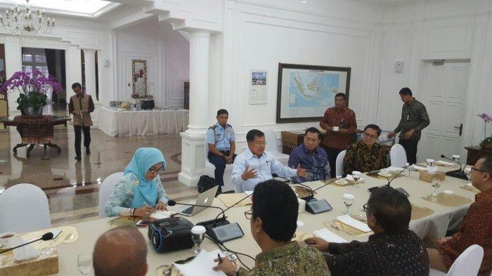 Wapres Jusuf Kalla Ikut Rapat IKA Unhas Bersama Rektor, Ini Beberapa Hal yang Dibahas