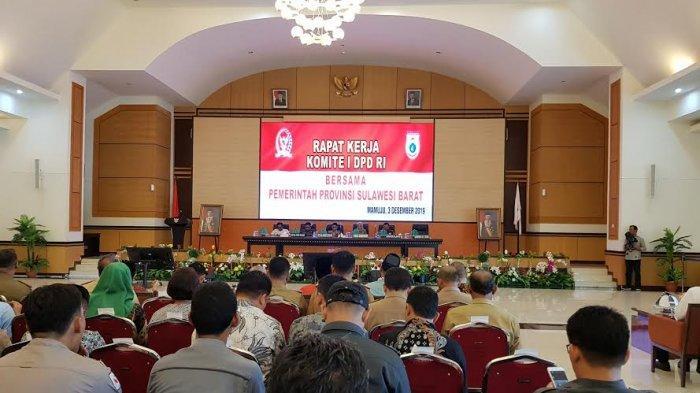 Komite I DPD RI dan Pemprov Sulbar Gelar Rapat Kerja, Apa Dibahas?