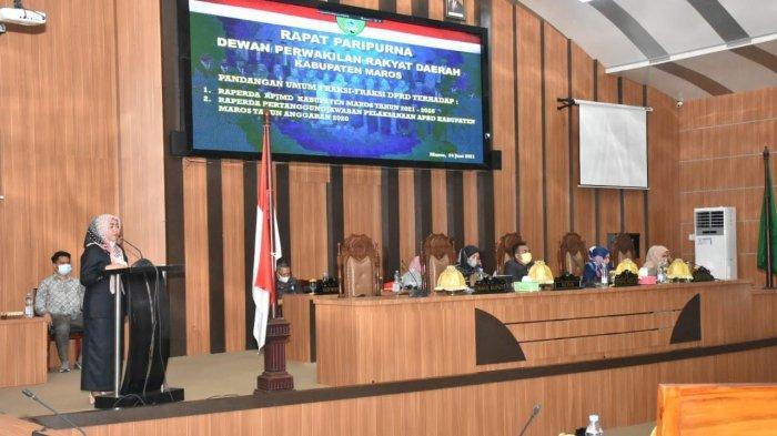 Sejumlah Fraksi DPRD Maros Soroti Alih Fungsi Lahan Pertanian