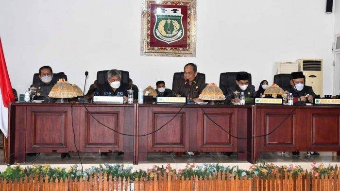 DPRD Setujui Ranperda Perubahan RPJMD Tahun 2019-2024, Bupati Harap Capai Target