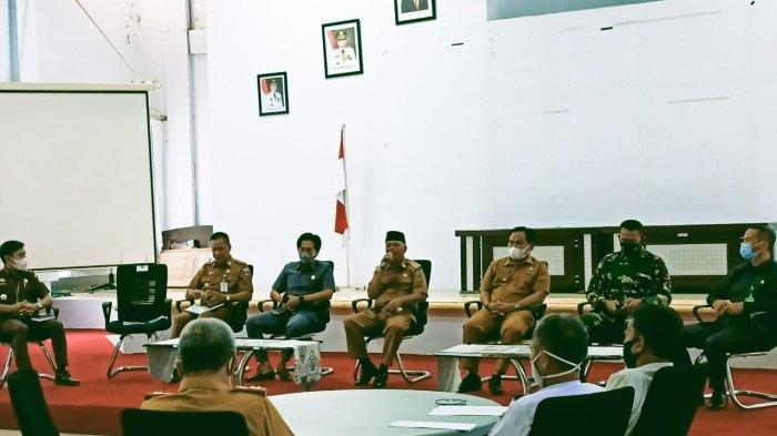 Rapat Persiapan Pelaksanaan Idulfitri, Bupati Enrekang: Harus Tetap Patuhi Prokes