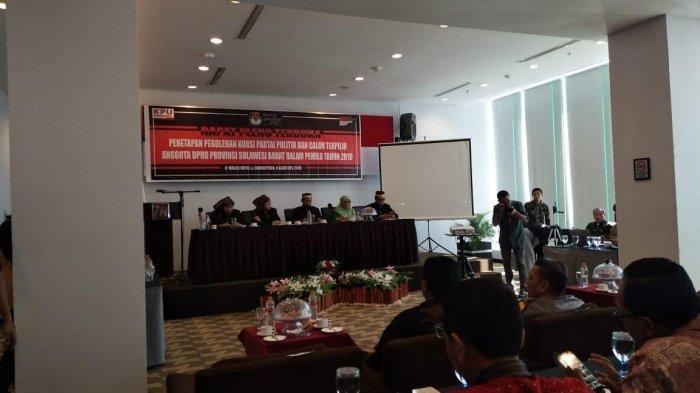 KPU Sulbar Tetapkan 45 Caleg Terpilih DPRD Provinsi