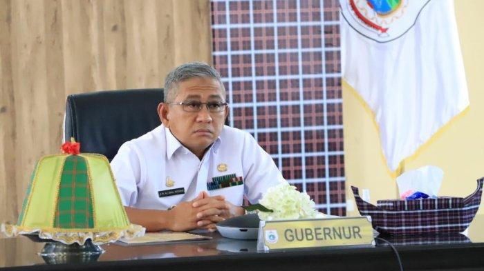 Hadiri Rapat Percepatan Satu Peta dengan KPK, Begini Harapan Gubernur Sulbar
