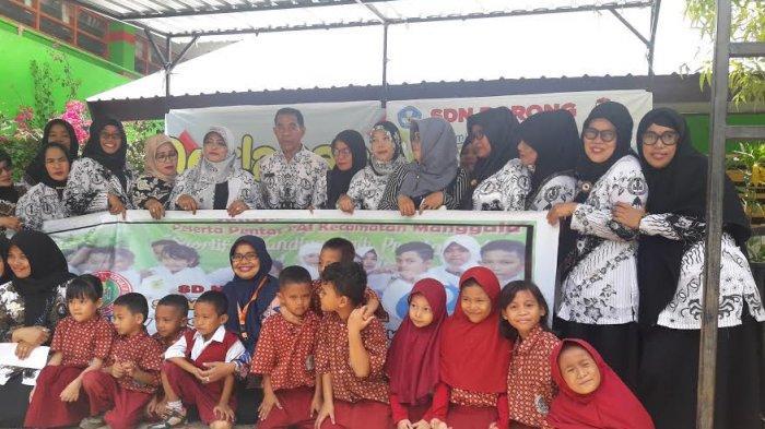 Tagana Masuk Sekolah di SD Kompleks Borong Makassar