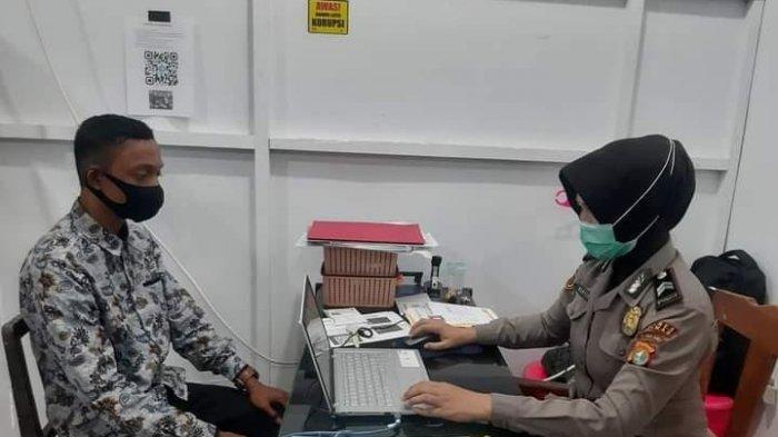 380 Calon Anggota Polri Verifikasi Online, Kabag Sumda Polres Polman: Jangan Percaya Calo