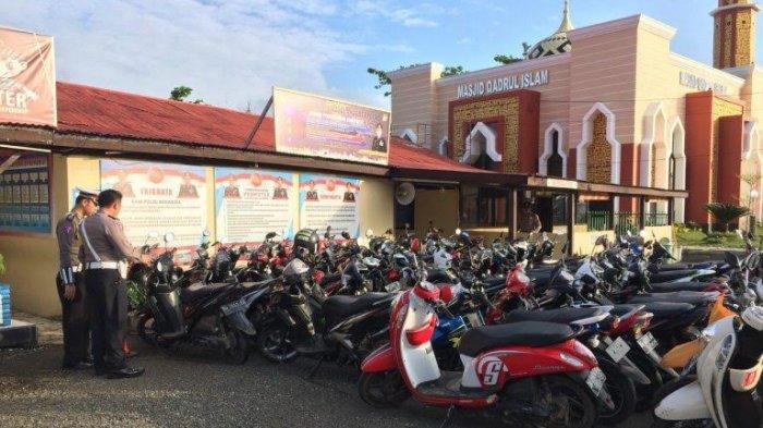 Konvoi Kelulusan SMA, 128 Sepeda Motor Diamankan Satlantas Bone