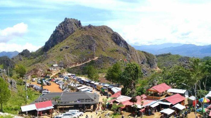 Libur Natal 2019, Objek Wisata Buntu Burake Tana Toraja Dipadati Pengunjung