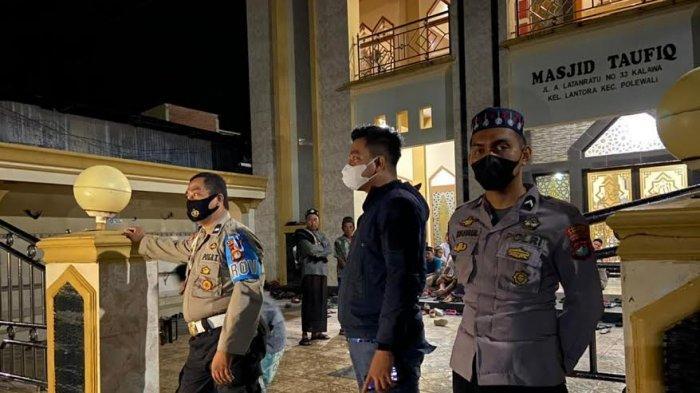 Antisipasi Kejahatan Selama Ramadhan, 170 Polisi Jaga Masjid di Polman