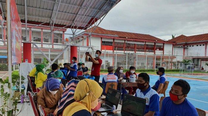Ratusan Warga Binaan Rutan Kelas I Makassar Divaksin