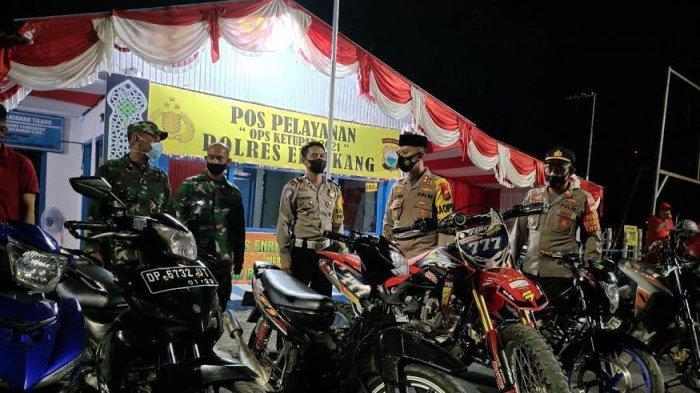 Gunakan Knalpot Racing, 11 Sepeda Motor Terjaring Razia Operasi Pekat Polres Enrekang