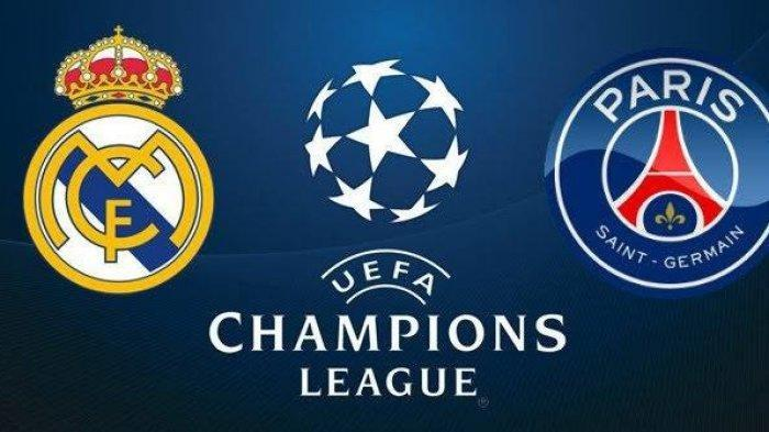 Skor, Link Live Streaming Real Madrid vs PSG Paris Saint-Germain di Liga Champions Via TV Online