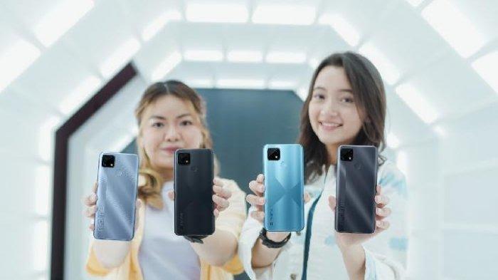 Realme C25 Resmi Masuk Indonesia, RAM 4GB Baterai 6.000 mAh, Harga Rp 2 Jutaan