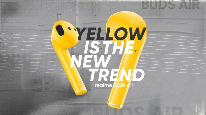 Realme Buds Air Punya Warna Baru, Berikut Spesifikasi dan Harganya
