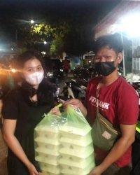 Bantu Korban Kebakaran di Kampung Lepping, Red Gank Dirikan Posko Peduli