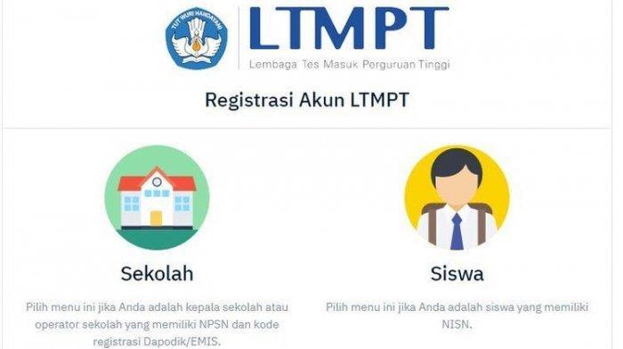 Ditutup 1 Februari, Lengkap Cara Registrasi Akun LTMPT portal.ltmpt.ac.id untuk SNMPTN 2021