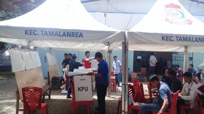 Rekapitulasi Suara di Kecamatan Tamalanrea Makassar Baru Rampung Dua Kelurahan
