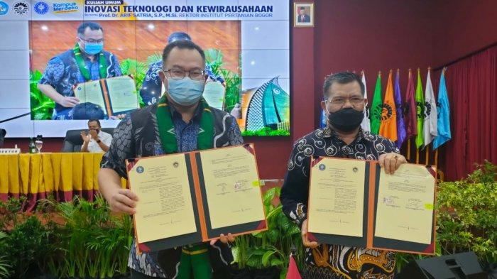 Rektor IPB Bawa Kuliah Umum di UNM, Husain Syam: Sinergi Antar Kampus Diperlukan