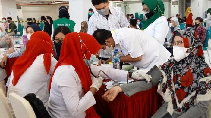 Sambut Mahasiswa Baru, Universitas Islam Makassar Gelar Vaksinasi Massal