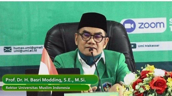 Prof Basri Modding: Dosen Berprestasi UMI Akan Diberi Reward
