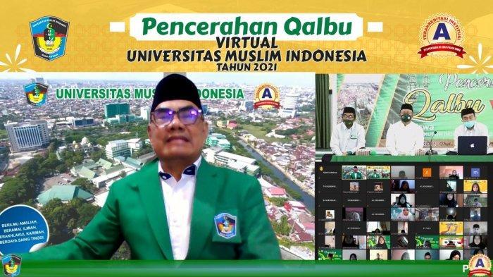 Prof Basri Modding Tekankan Pentingnya Pencerahan Qalbu ke Maba UMI