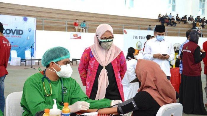 Unhas Sasar 20 Ribu Mahasiswa dan Alumni Ikut Vaksinasi