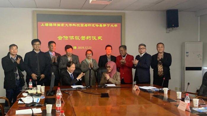 Unhas dan Shanghai Ocean University Kerjasama Budidaya Perairan